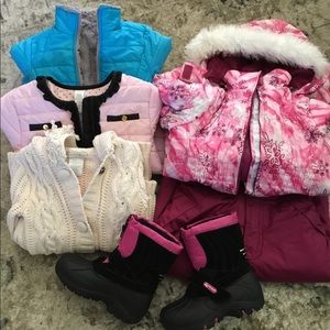 Other - Bundle for little girl .jackets,boots,pants.